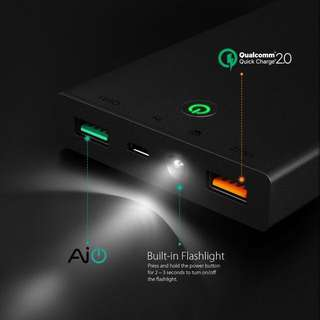 Aukey Quick Charge 16000 mAh External Battery Charger