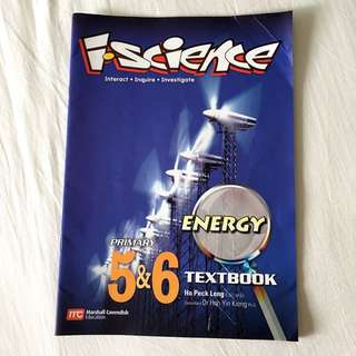 Used I.Science Energy Primary 5&6 Textbook