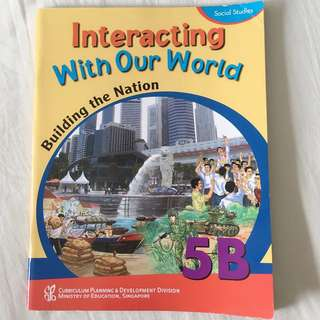 Used Good Condition Interacting With Our World 5B Social Studies Textbook