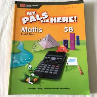 Used Like New My Pals Are Here Maths 5B Textbook