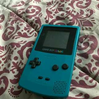 Gameboy Colour With Game