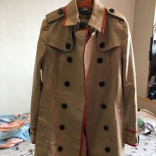 100% new and authentic Burberry trench coat 乾濕褸