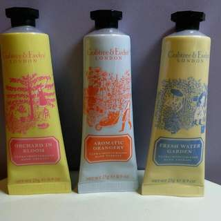 Crabtree & Evelyn limited edition hand cream set