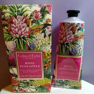 Crabtree  & Evelyn limited edition hand cream