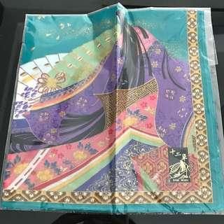 日本製純棉方巾