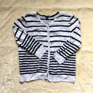 H&M Stripes Cardigan