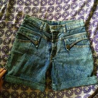 Hw Hotpants Jeans