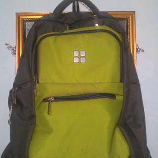 Free Ongkir!! Bagpack merk Season warna (abu-abu Hijau)