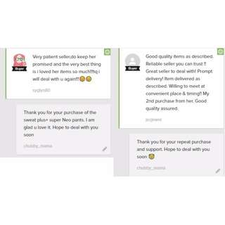 More Testimonials For Mirabelle 8lim V2 And Sweat Plus Super Neo Pants