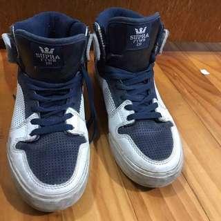 Supra White Vaider - Size 8US