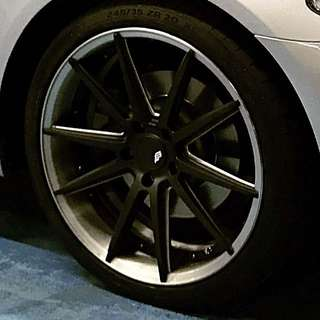 "Rays Blackfeet 20"" Rims"
