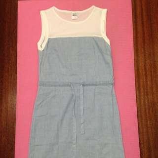 Vero Moda淺藍色連身洋裝-XS