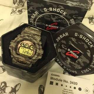 ✨全新G-shock迷彩手錶✨