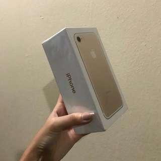 Authentic Iphone 7 Gold 128GB