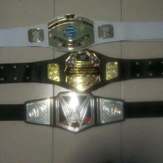 WWE belts