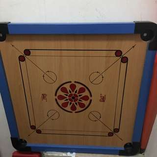 2sided Game (carrom & Checkers)