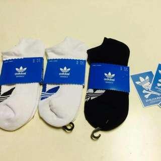 ﹝促銷活動開跑﹞日本連線 正品 Adidas Originals 三葉草 運動短襪 (薄版、厚版)