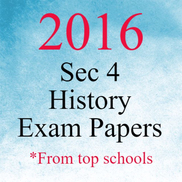 History exam papers online