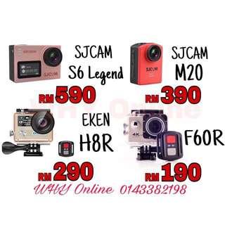 Original Action Camera (SJCAM/EKEN/F60R)