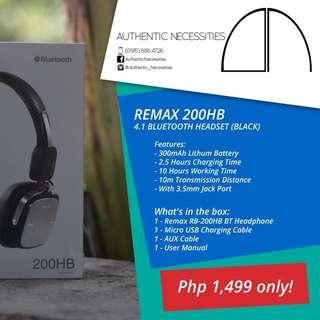Remax 200HB Bluetooth Headphone