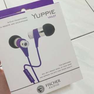 [BNIP] Fisher Audio Yuppie Earphones