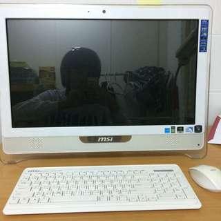 MSI 電腦 螢幕可觸控 主機螢幕一體