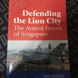 Defending The Lion City(Book)