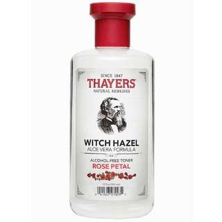 Thayers Alcohol-Free Rose Petal Witch Hazel Toner 無酒精金縷梅玫瑰花瓣爽膚水 (355mL)