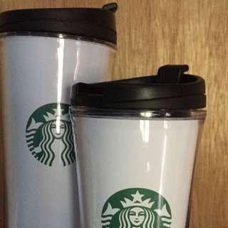 Tumbler Starbucks Tall And Short Size