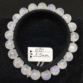 雙怡天然水晶-月亮石 9.5mm 手珠 手串 手鏈