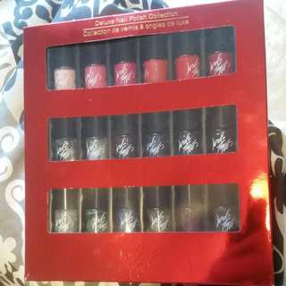 Lord & Taylor 18-piece Nail Polish Set