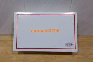 🚚 sunnylin0206~COACH outlet 禮盒。紙盒。長夾用~