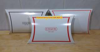 🚚 sunnylin0206~COACH outlet 禮盒。派盒。~