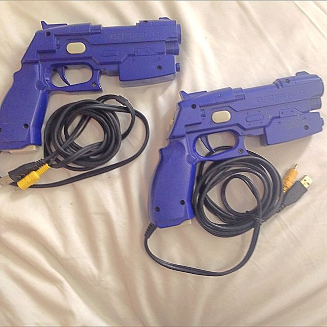 2 X Ps2 Namco Guns Plus 3 Games