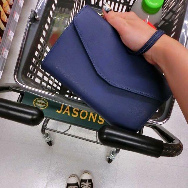 旅行隨身小包(藍色)