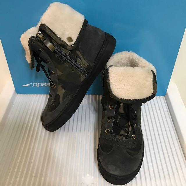 中性保暖軍靴(內鋪毛)有蝦皮