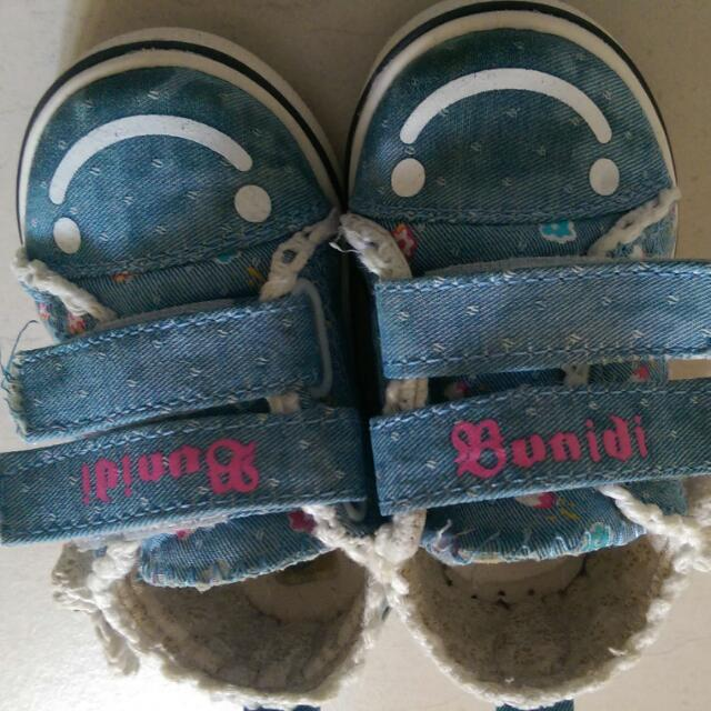微笑幼兒休閒鞋