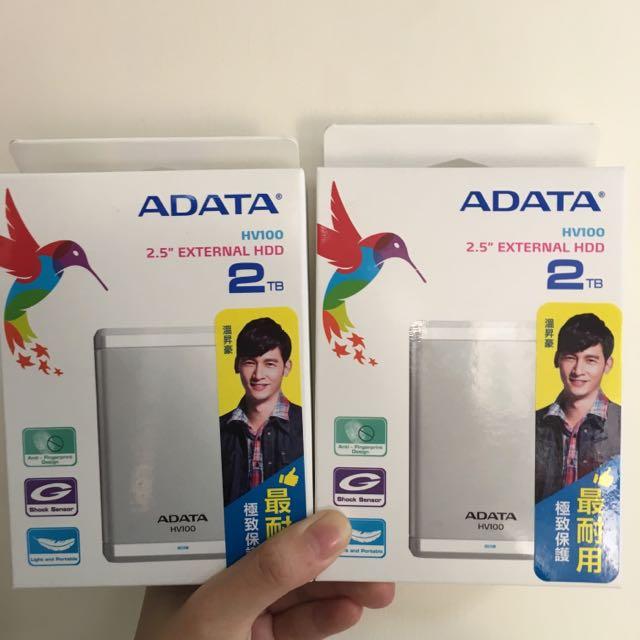 ADATA 威剛HV100 2TB硬碟