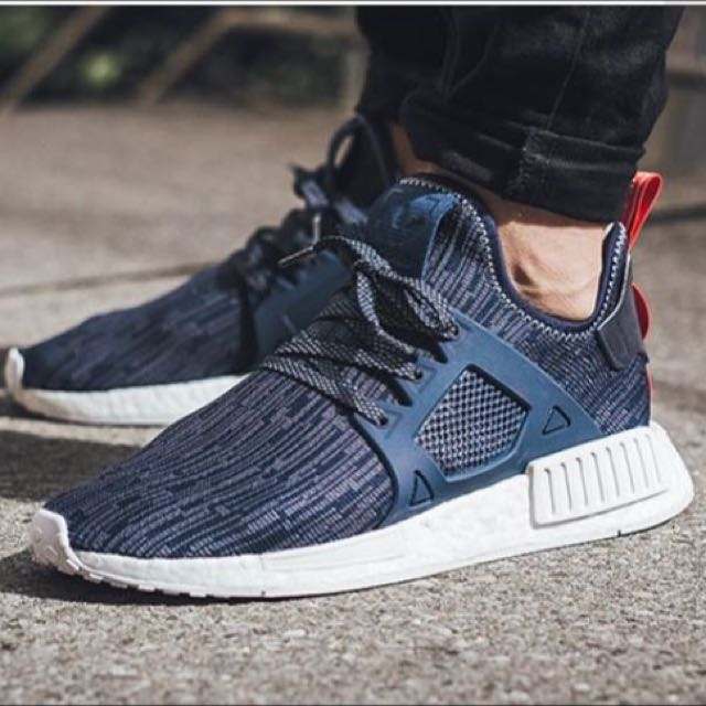 adidas nmd x1 blue black