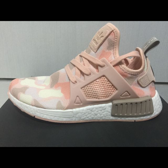 new product 3652f 21286 Adidas NMD XR1 Pink Camo