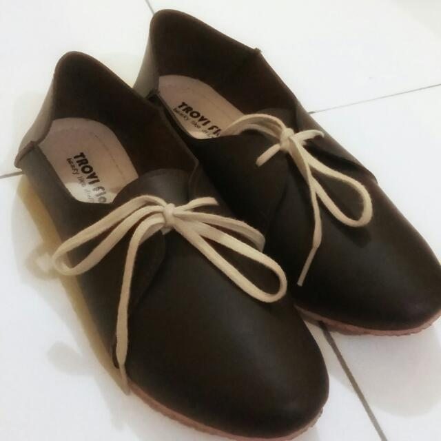 Angkle Boots Brown
