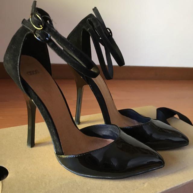 ASOS Double Strap Heels