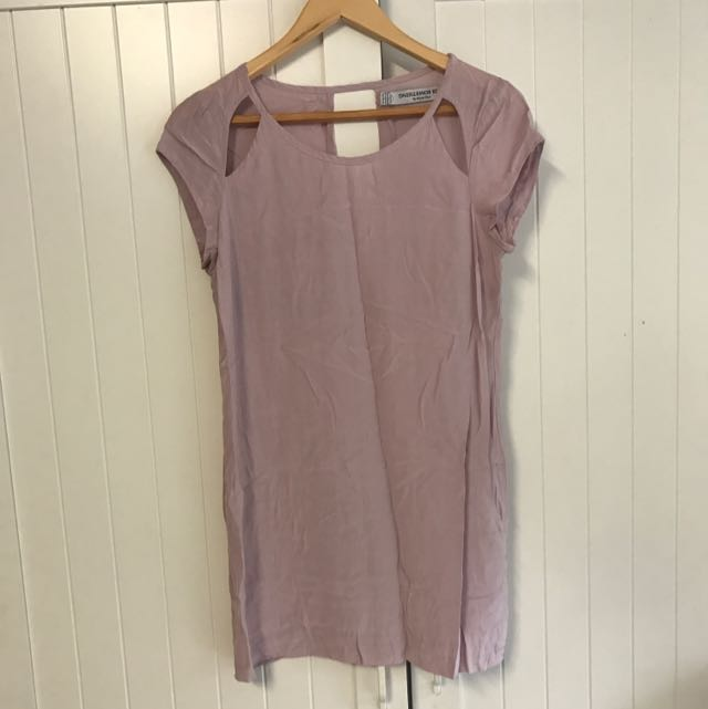 AU Size 8 Pale Mauve Something Else Brand Tunic