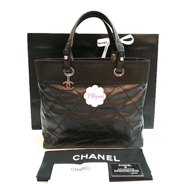 82a321e22938 Authentic Chanel Paris Biarritz Medium Tote Bag {{ Only For Sale }} *** NO  TRADE *** {{ Fixed Price Non-Neg }} ** 定价 **, Luxury, Bags & Wallets on ...