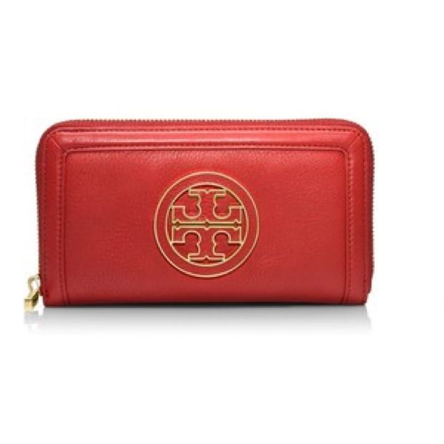 Authentic Tory Burch Red Wallet