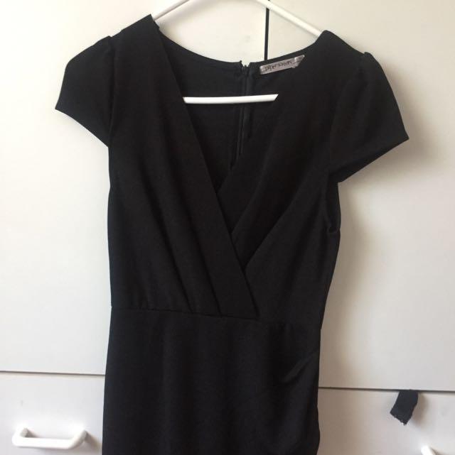 Black Smart Casual Dress
