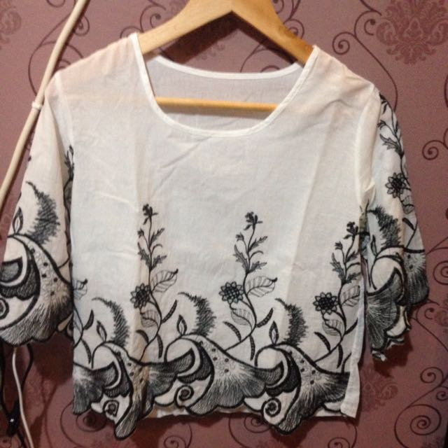 Blackflower top