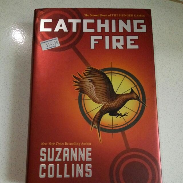 Catching Fire (2nd book of the Hunger Games)