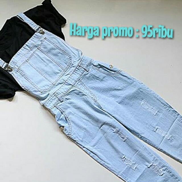 ((New)) Celine Overall Jeans