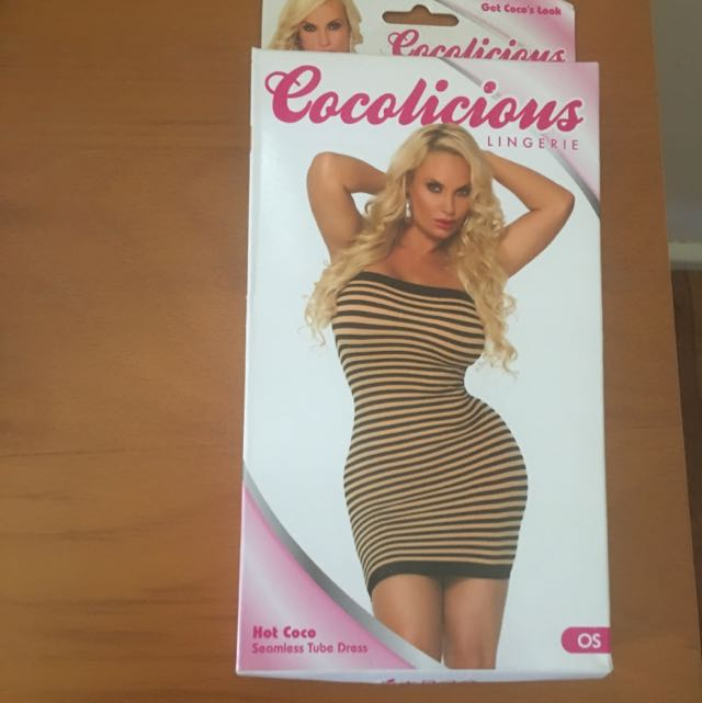 Cocolicious Lingerie Coco Seamless Tube Dress One Size Ice-T